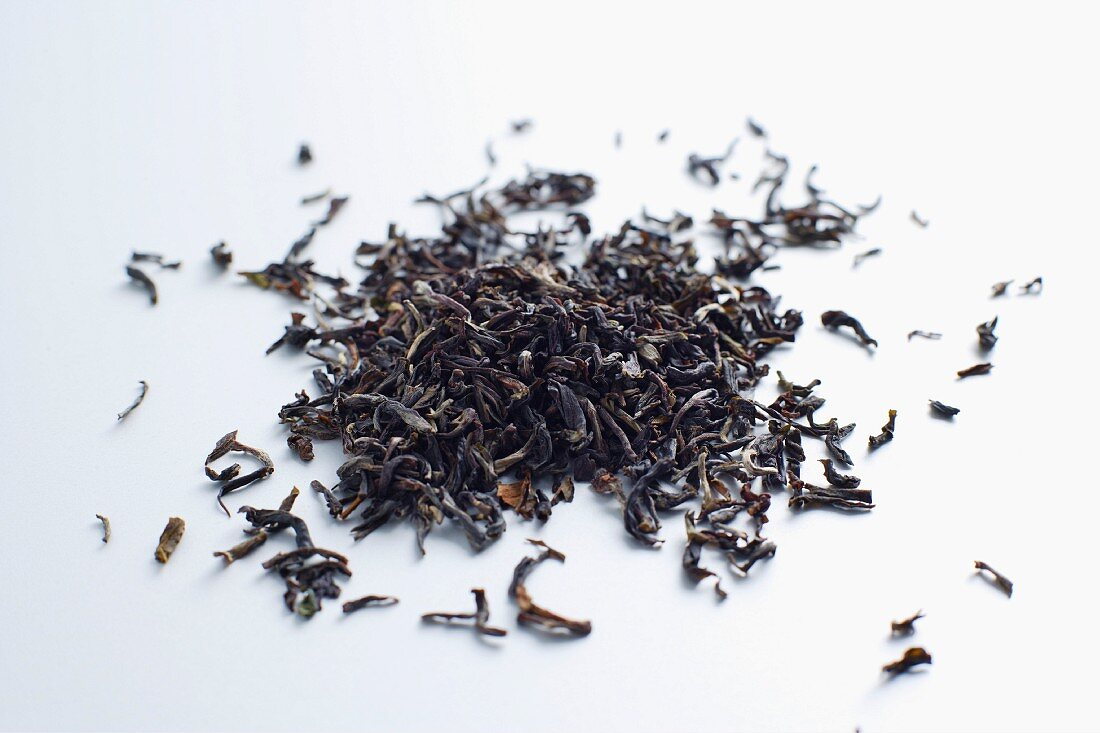 Oodlabari tea leaves (black tea from West Bengal, India)