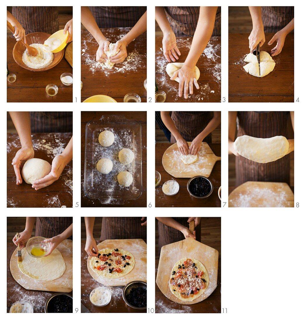 Steps for Making Homemade Pizza