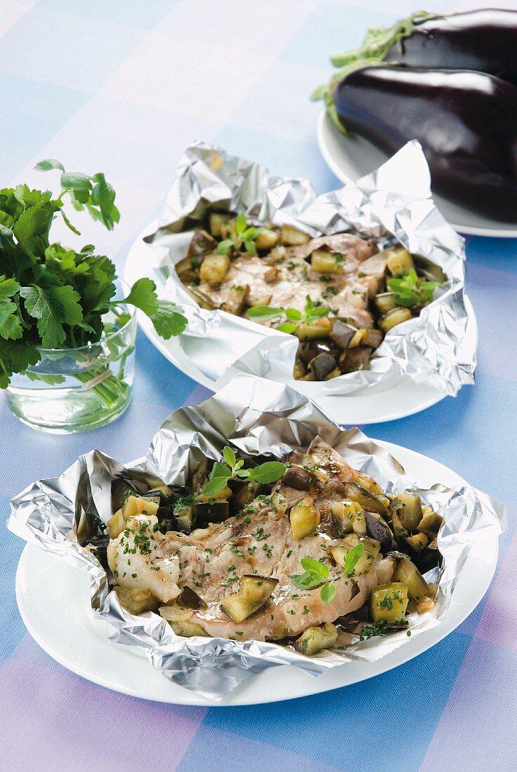 Costolette al cartoccio (veal chops in foil, Italy)