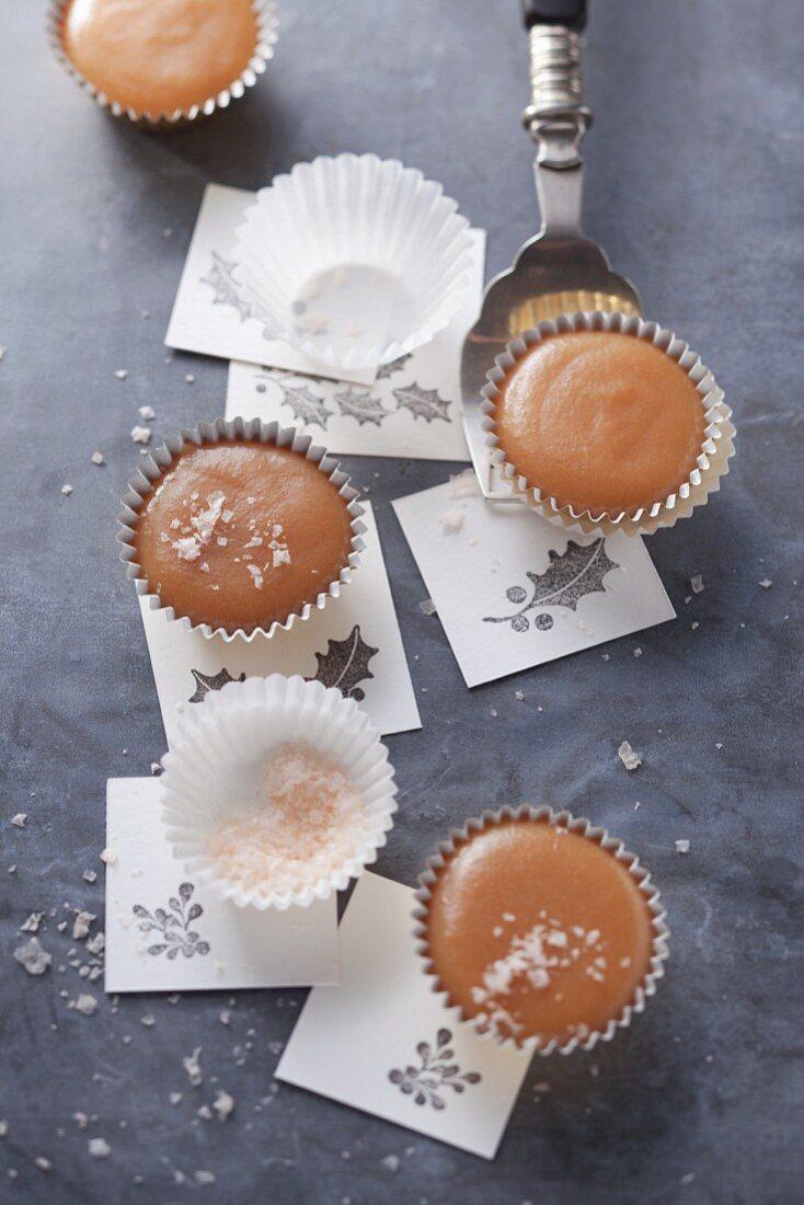 Caramel confectionery