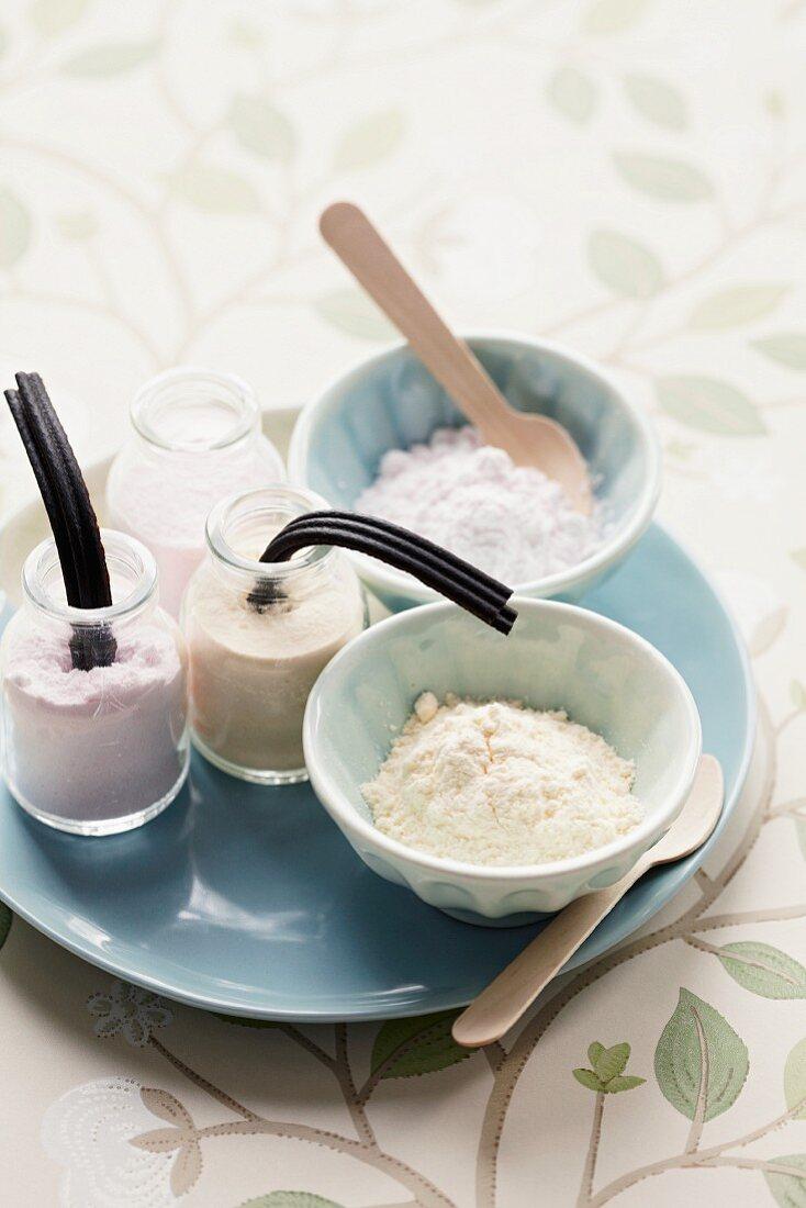 Sherbet powder with liquorice sticks