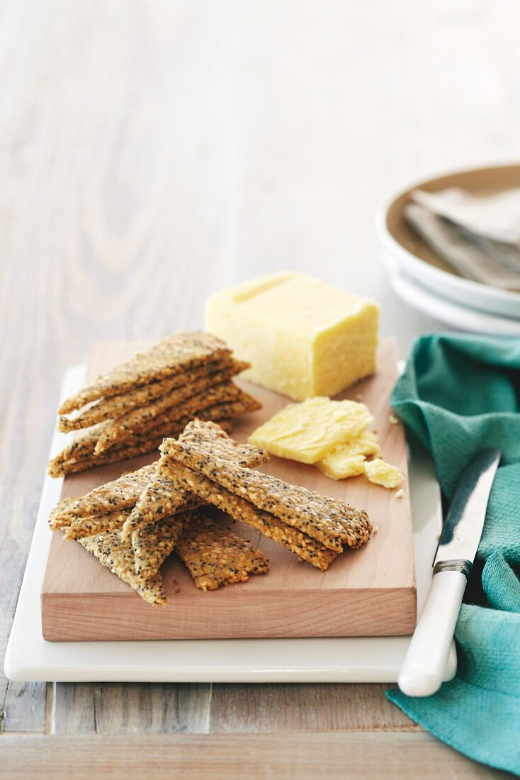 Seeded Oat Wedges