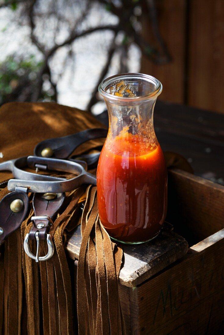 Home-made ketchup