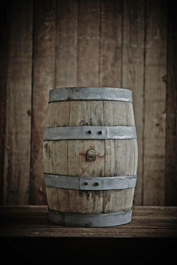 Kleines Bourbonfass für Saucen