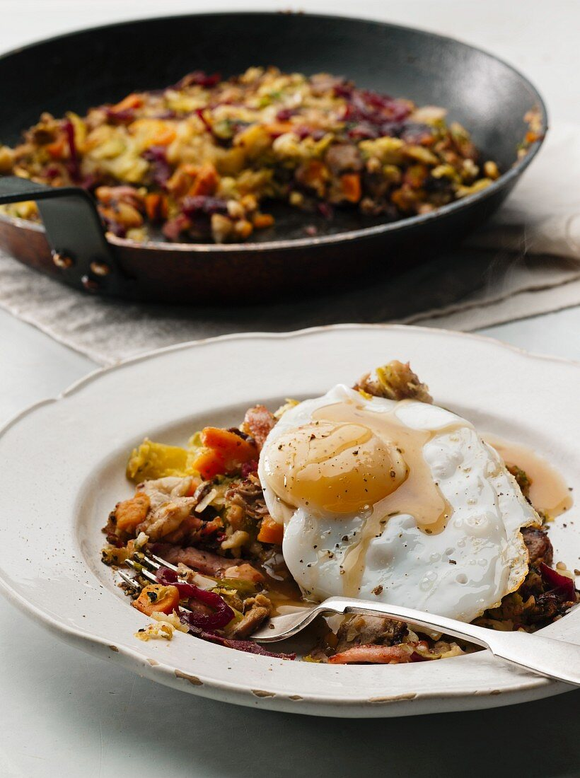 Boxing Day Bubble & Squeak (England)