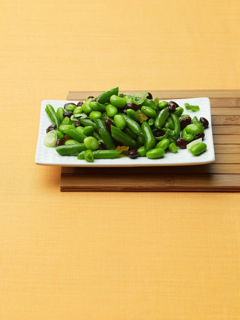 Asian Style Three Bean Salad