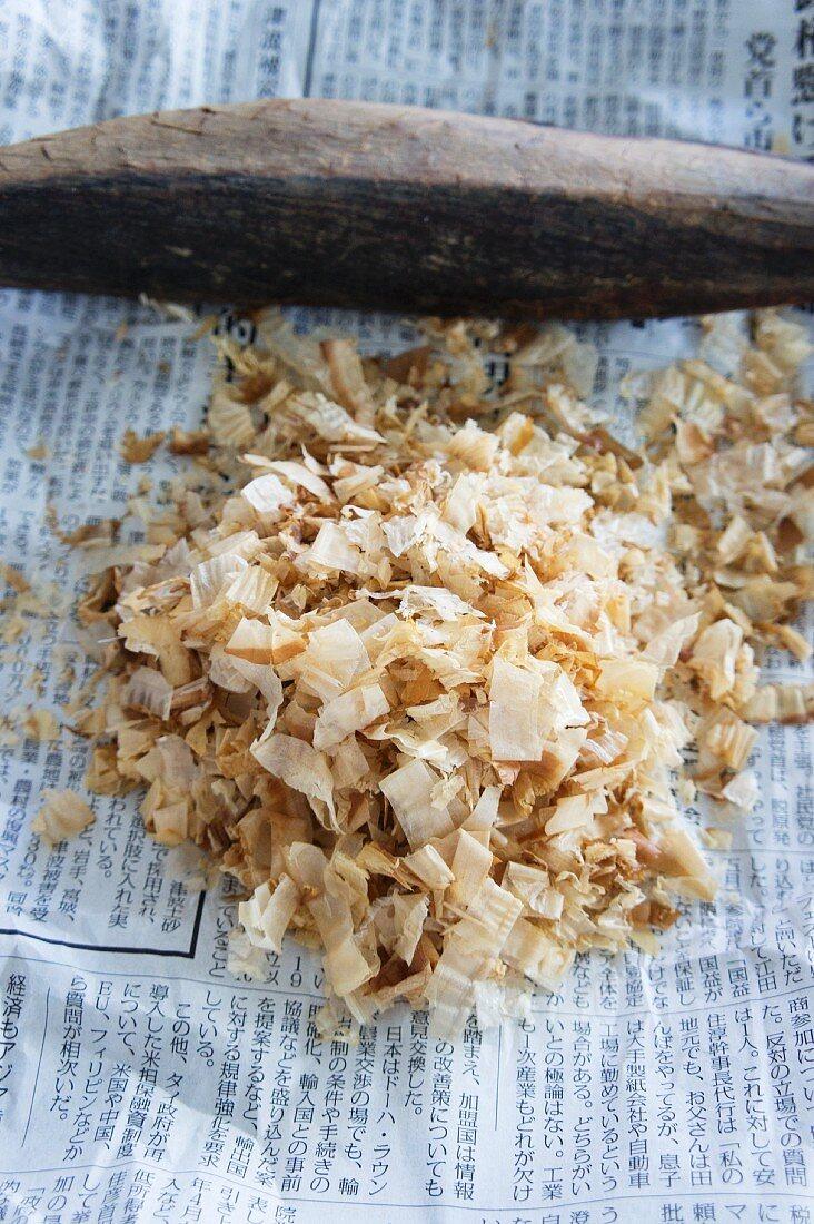 Bonito flakes for dashi