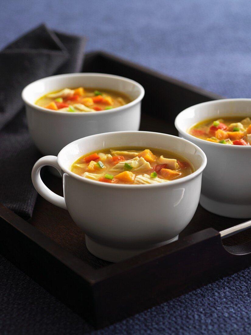 Sancocho - traditional soup from Latin America