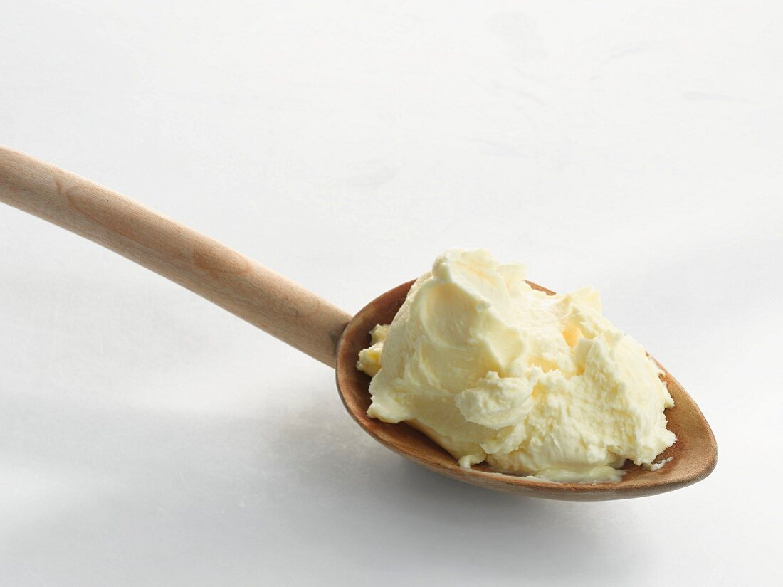 Spoonful of clotted cream