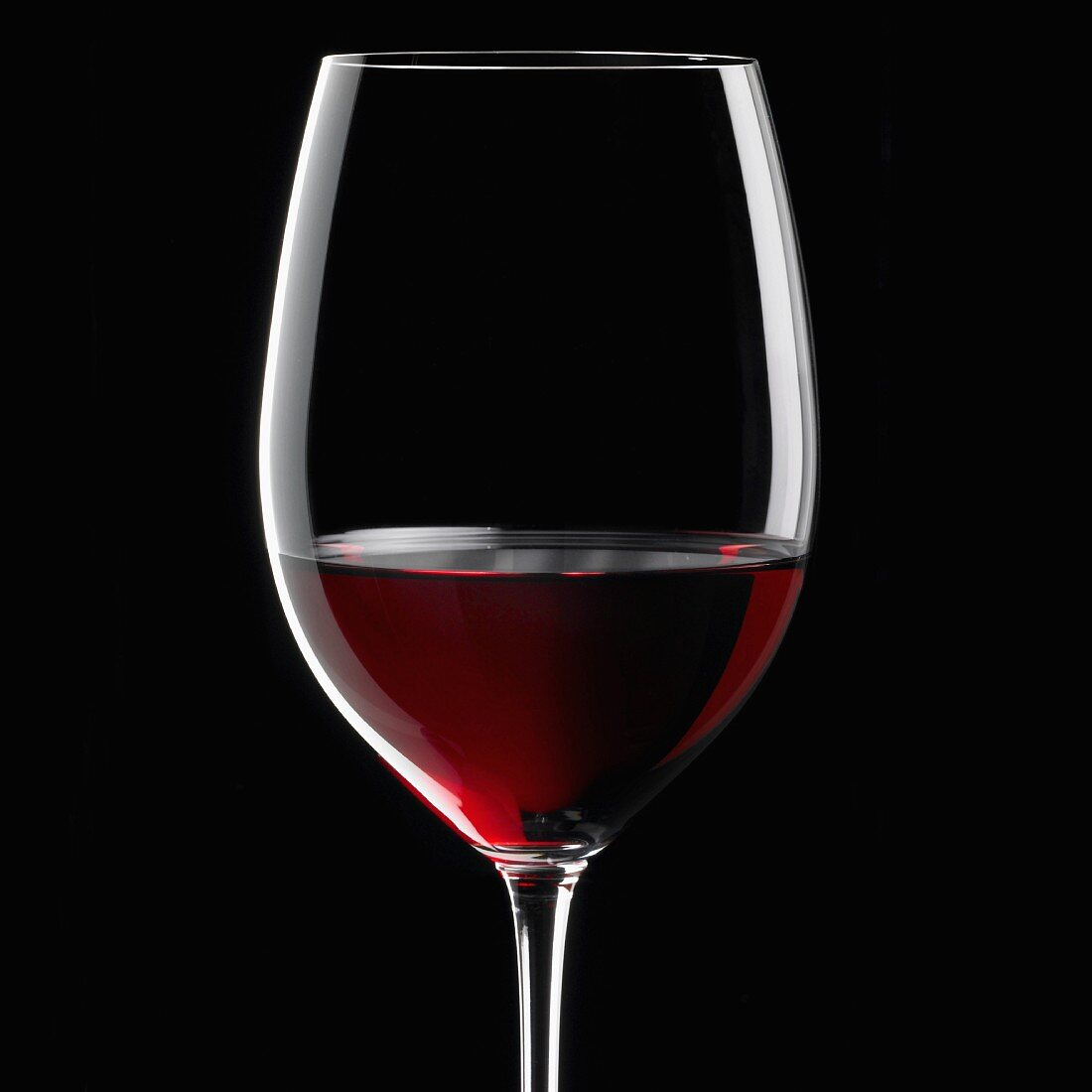 Glass of red wine, Italy, Europe