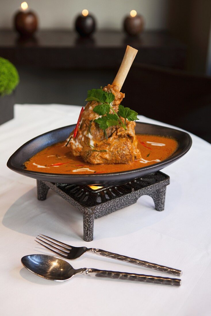 Indian lamb chop