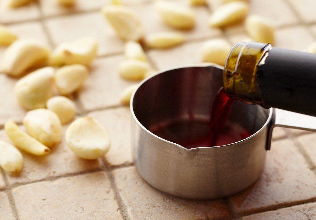 Garlic and Wine