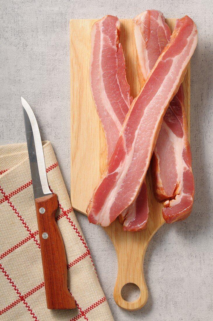 Slices of Speck ham