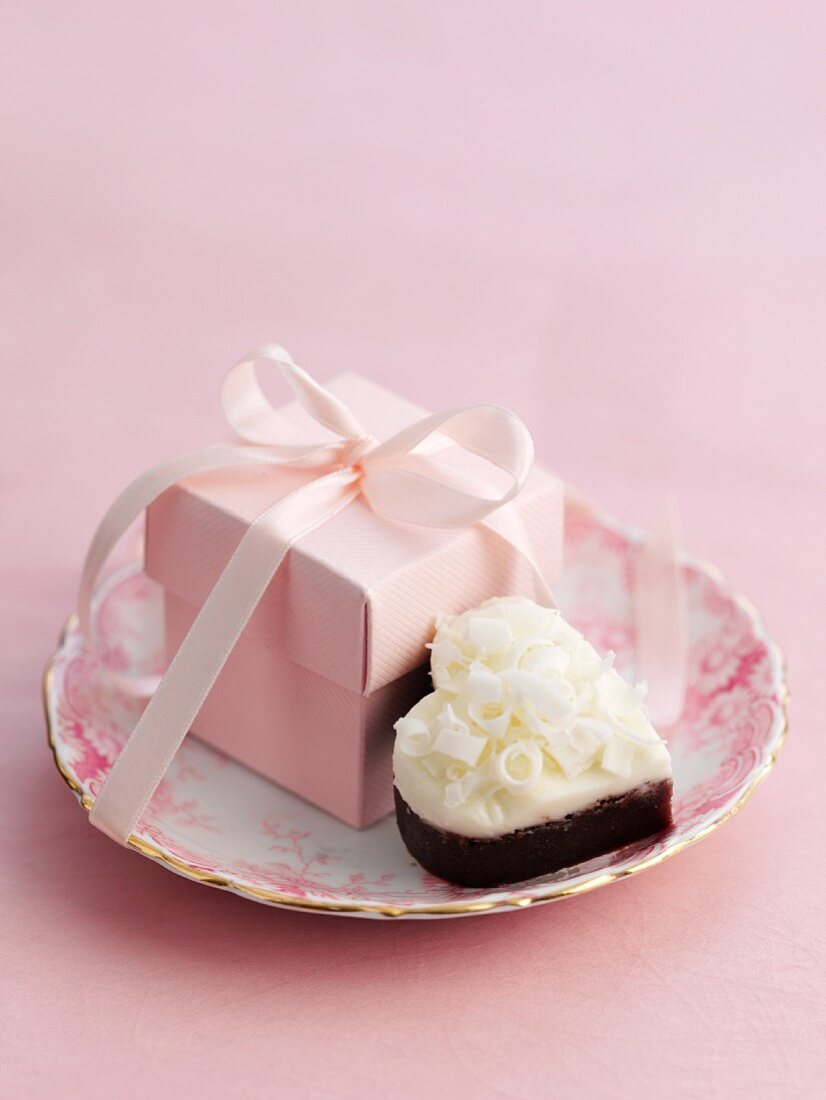 Petit fours as a gift
