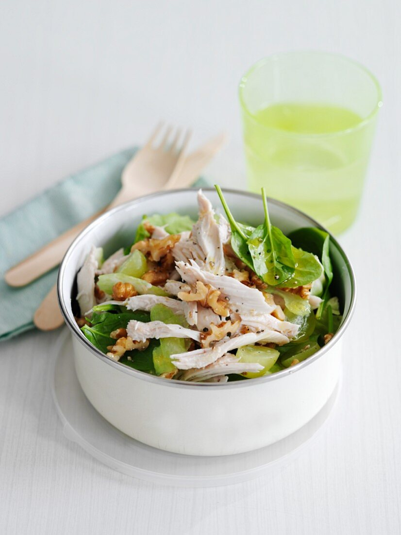 Chicken Lunch Box with Herbes