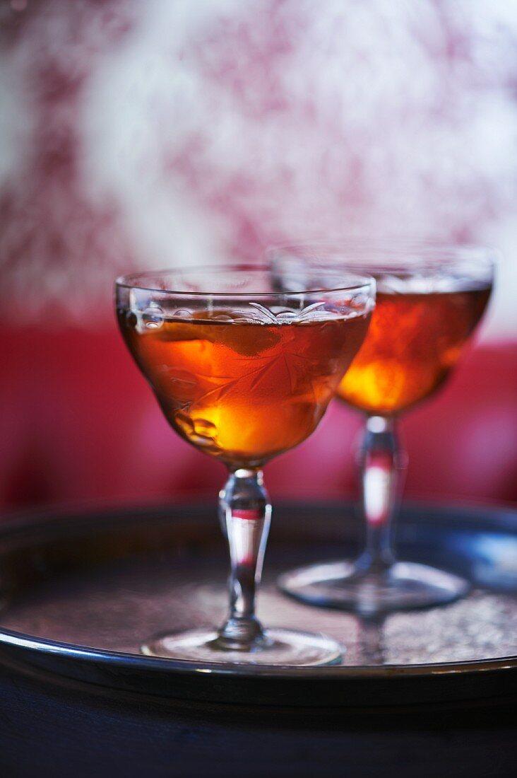 bourbon cocktail pair