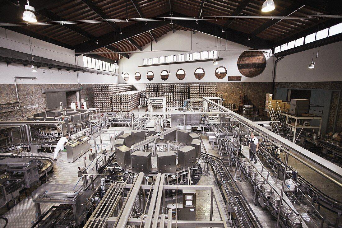 Industrielle Bierbrauerei (Bozen, Italien)