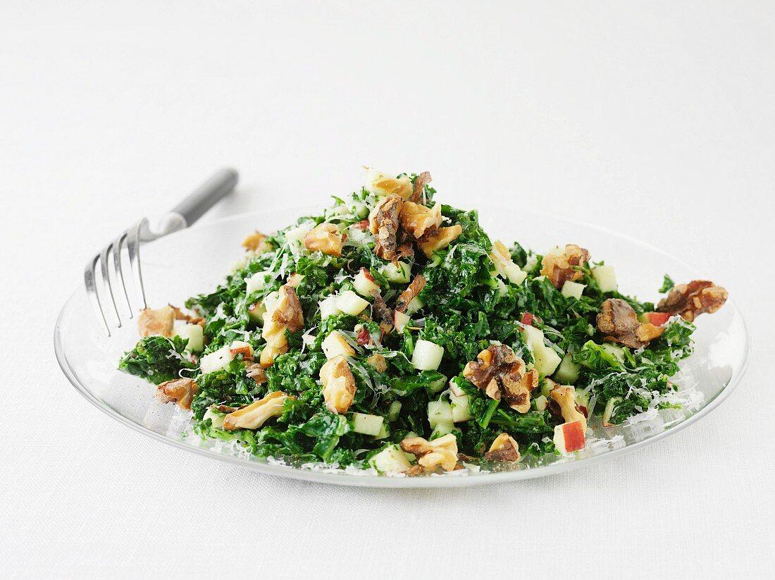Kale salad with V