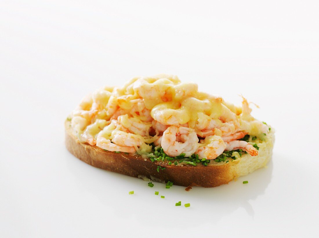 Räkmacka (toast with prawns, Sweden)