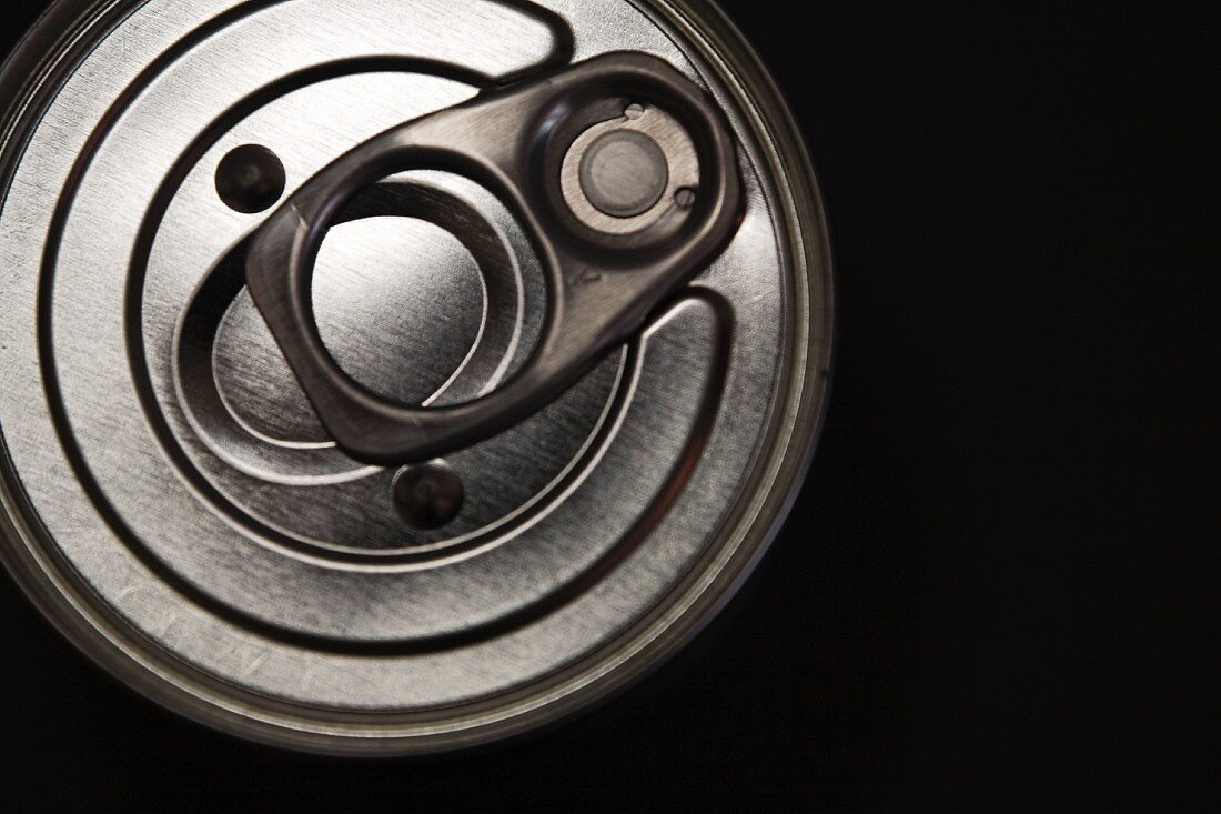 Can of food with pull-tab