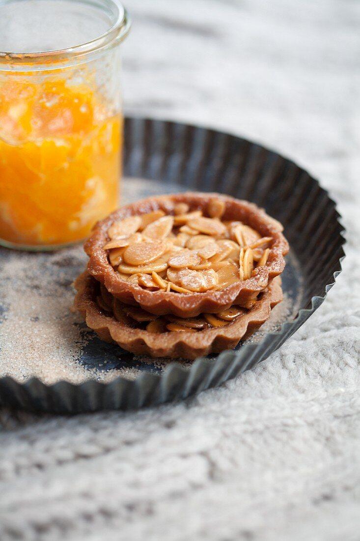 Almond tartlets for Christmas