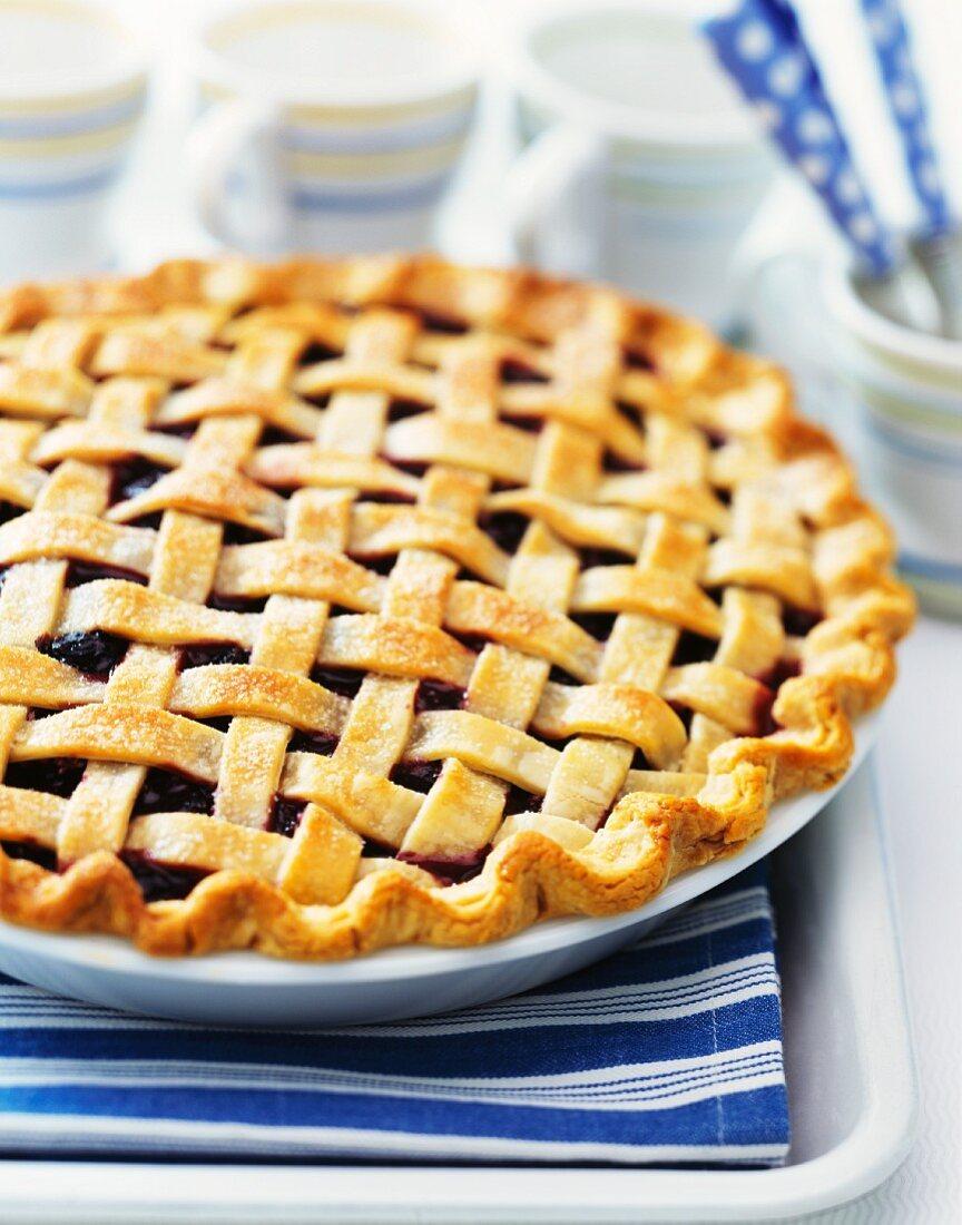 A berry pie