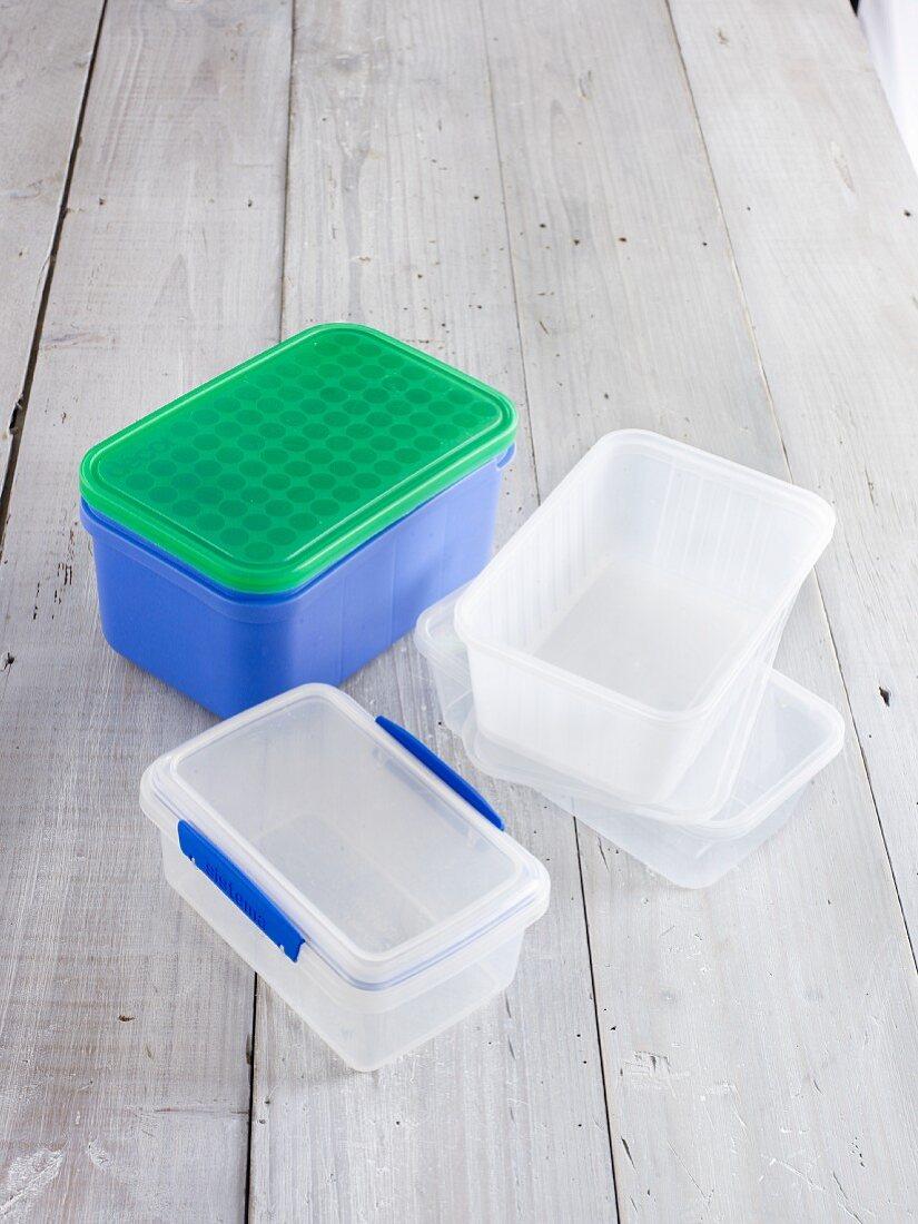 Various freezer boxes