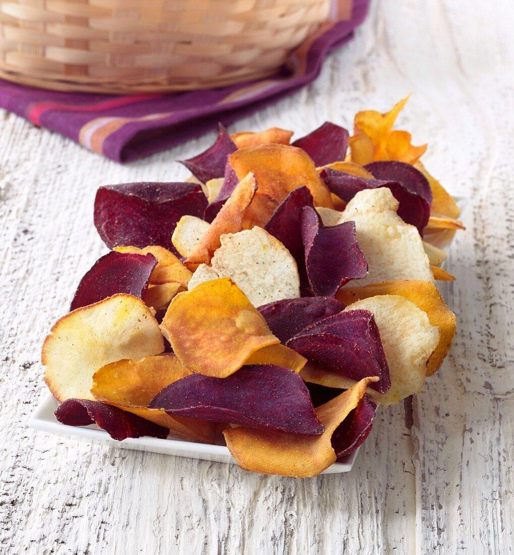 Gourmet Chips Seasoned with Sea Salt