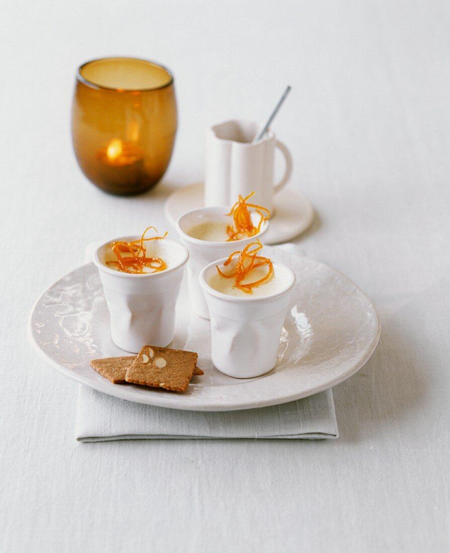 Mandarin possets