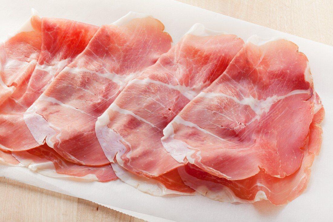 Culatello (Italian ham)