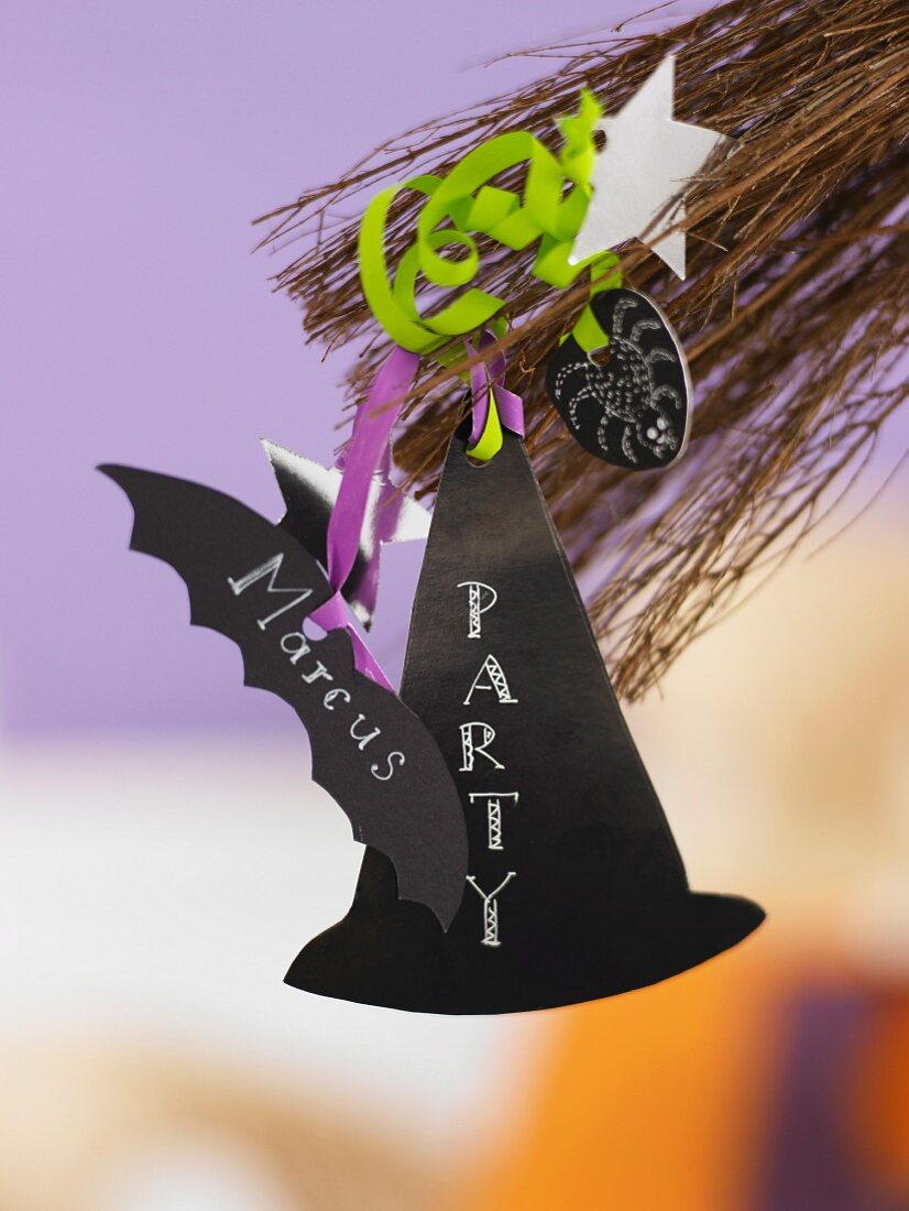 An invitation to a Halloween party