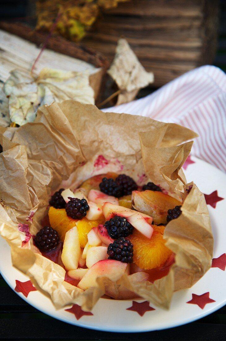 Baked fruit (Bonfire Night, England)