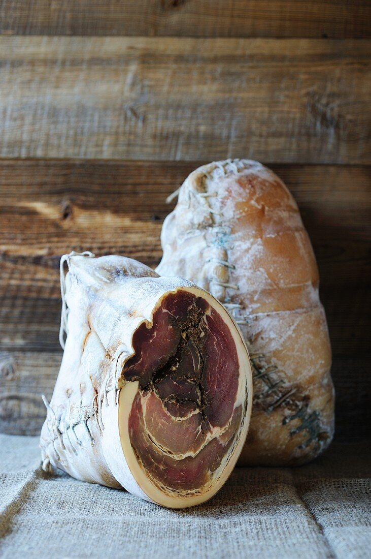 Jambon Cousu (speciality ham from France)
