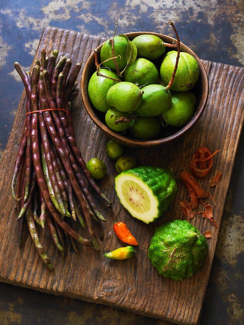 Various Indian vegetables