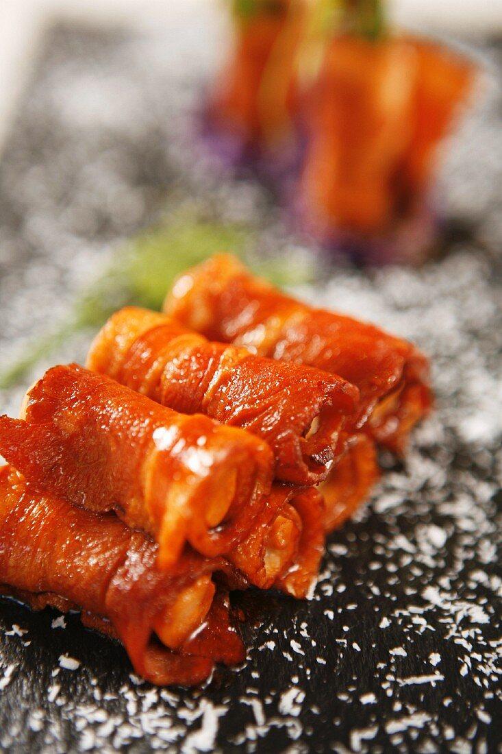 Ham roll dish