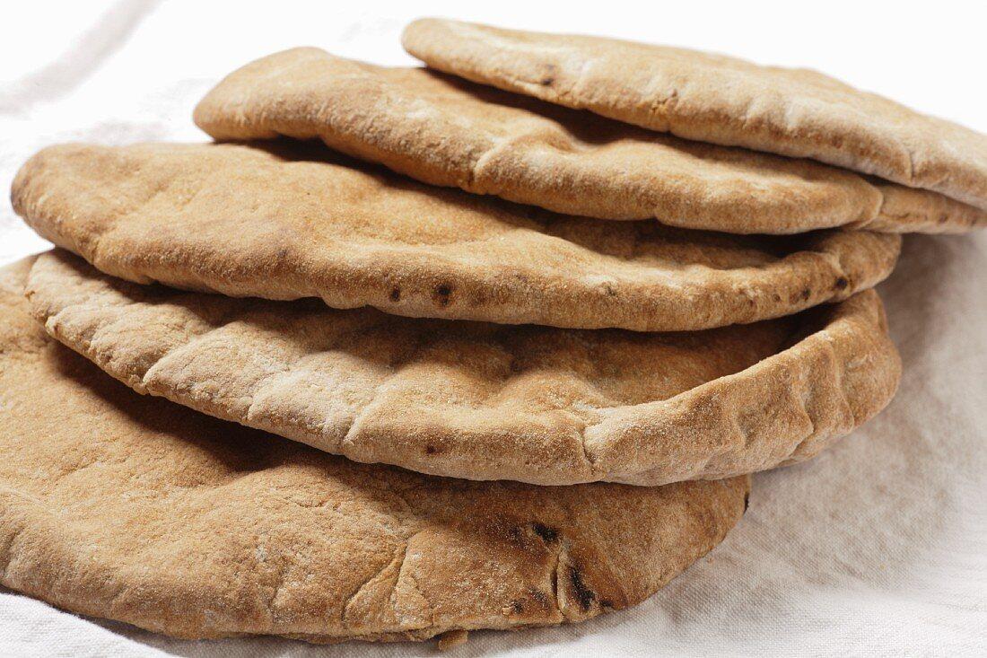 Whole Wheat Pita Breads
