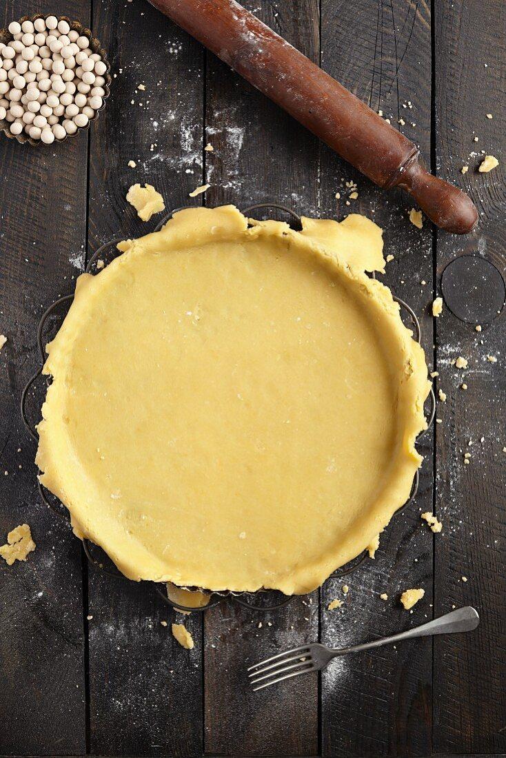 Pie Crust, High Angle View