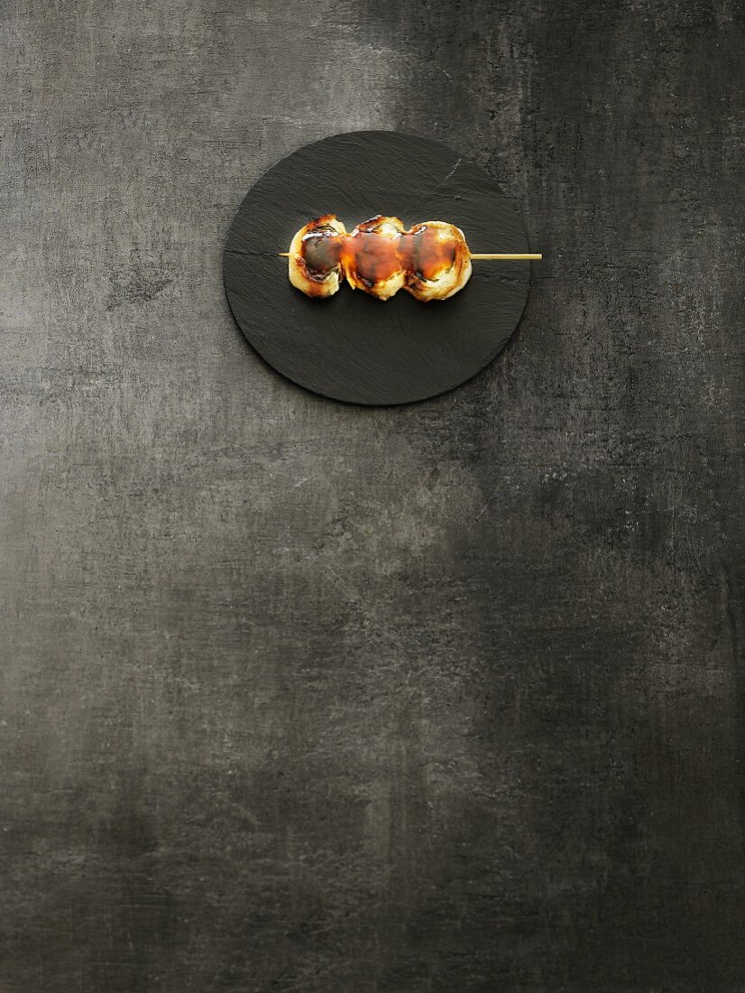 A roasted kushi skewer
