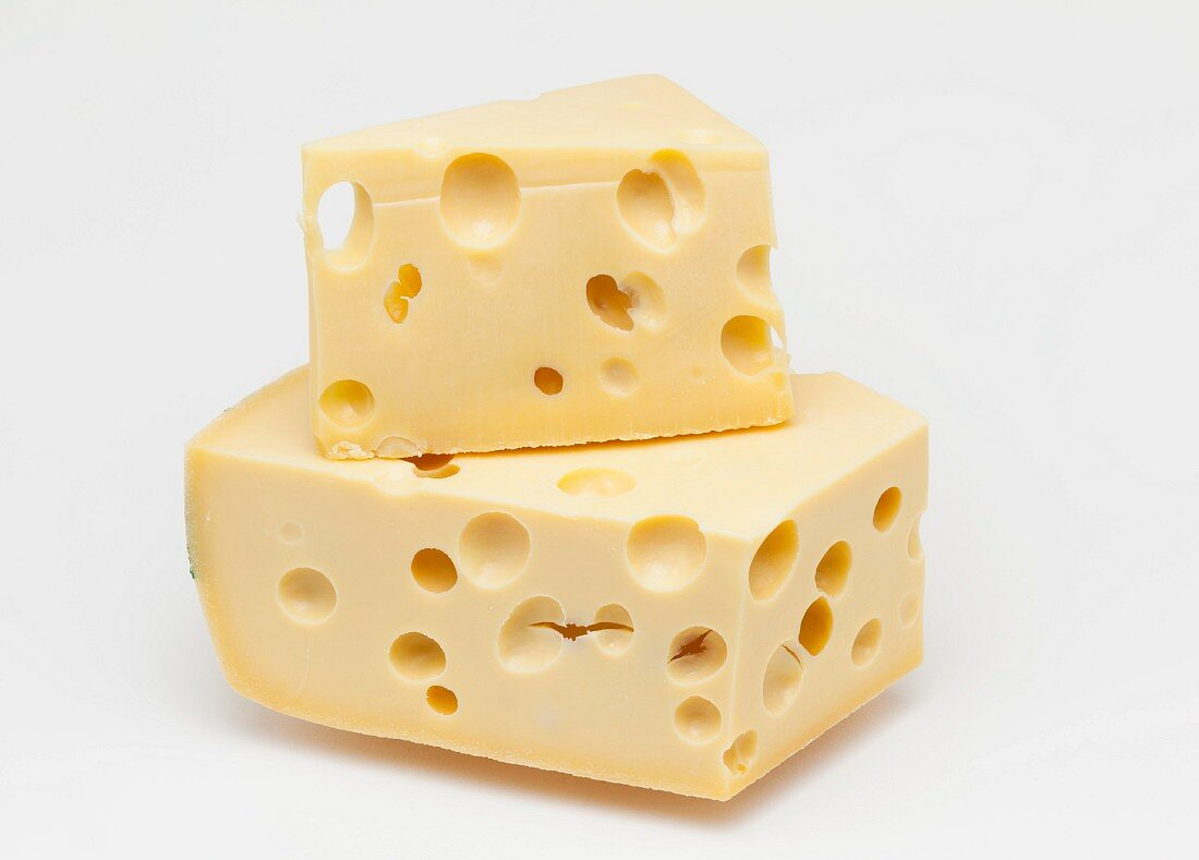Emmentaler cheese from Switzerland