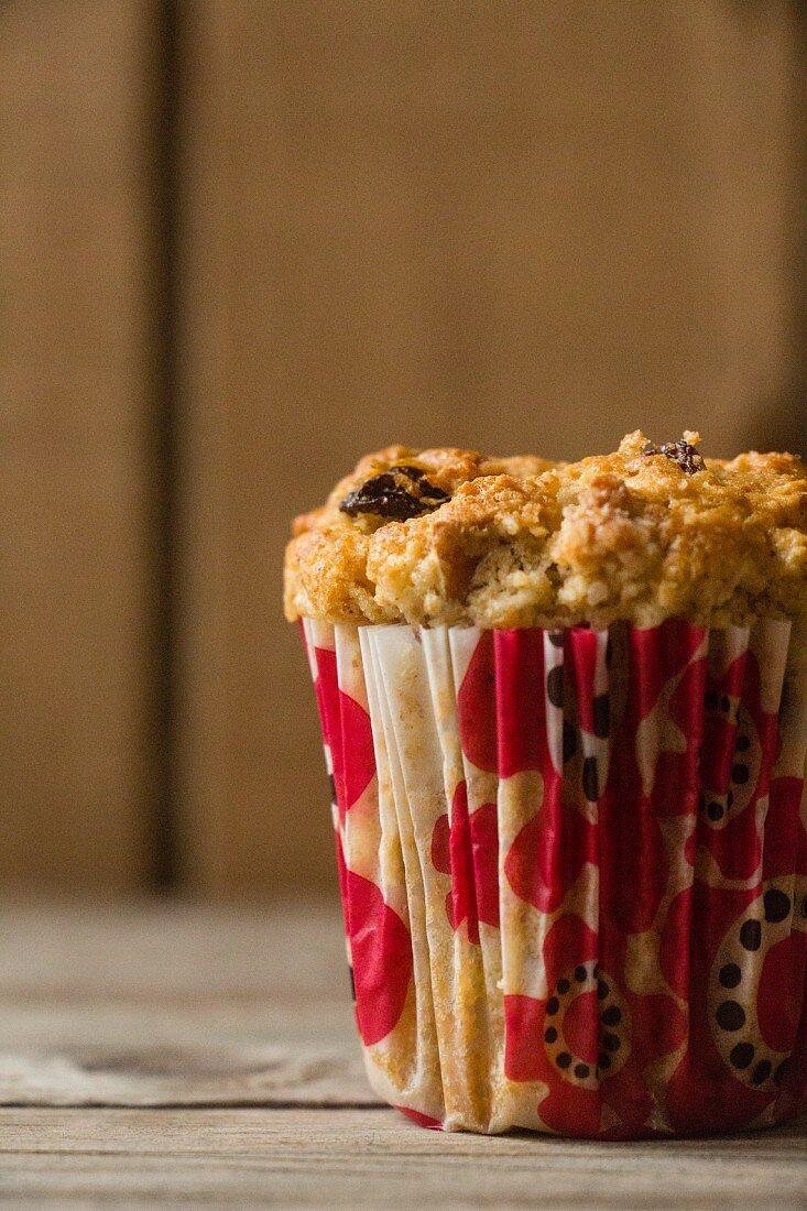 Pecan nut muffin with bourbon vanilla