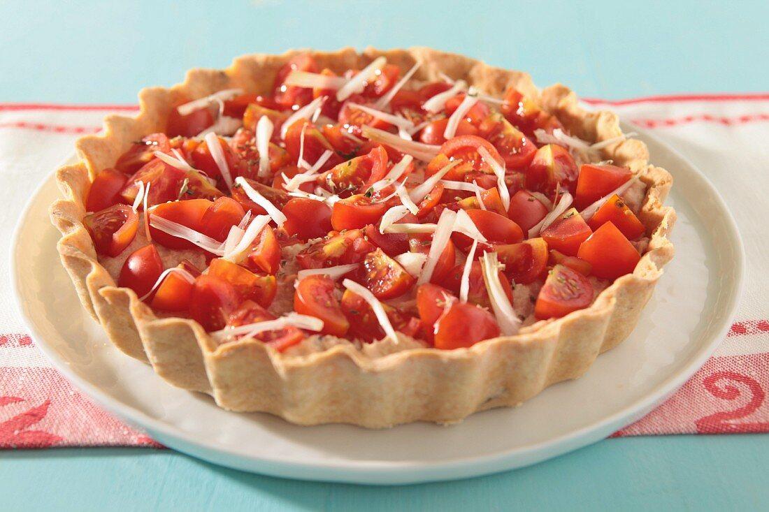 Thunfisch-Tomaten-Tarte