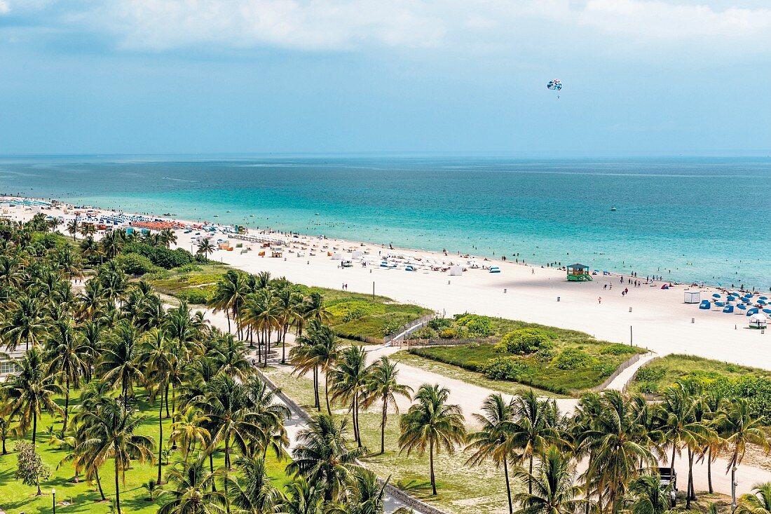 Strand im Süden Floridas, USA