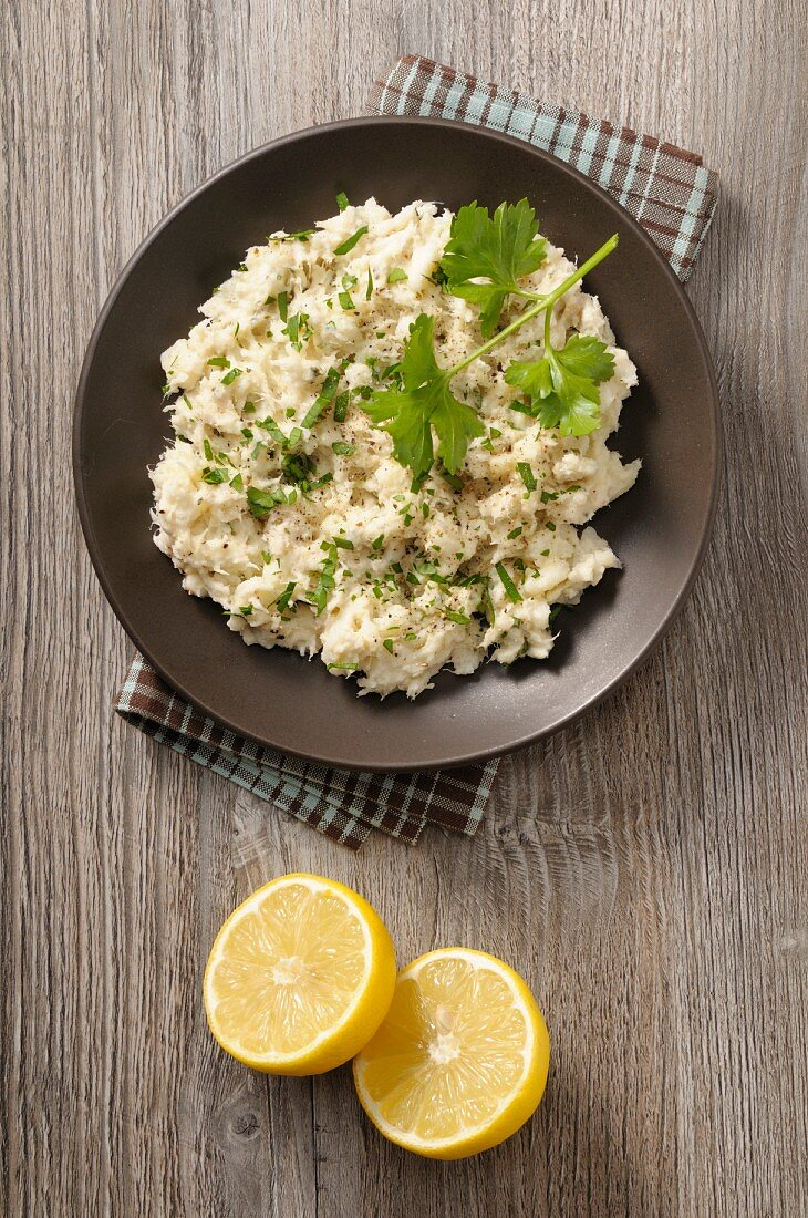 Brandade De Morue (salt cod puree, France)