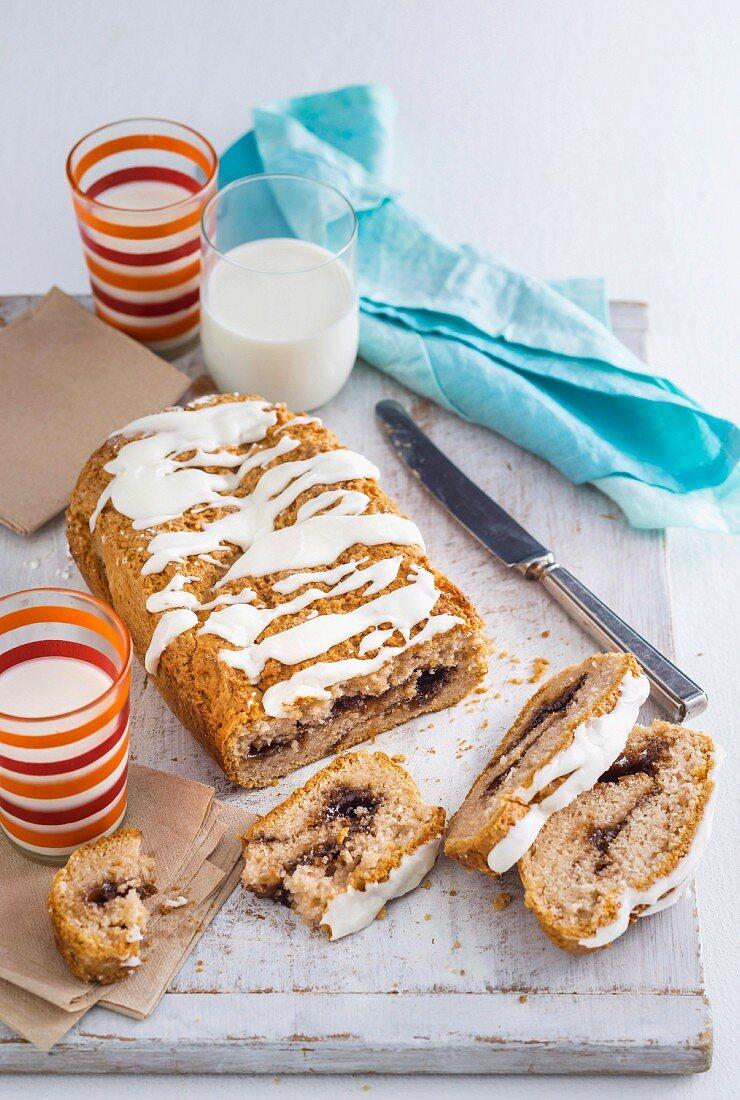 Gluten-free, Cinnamon swirl loaf
