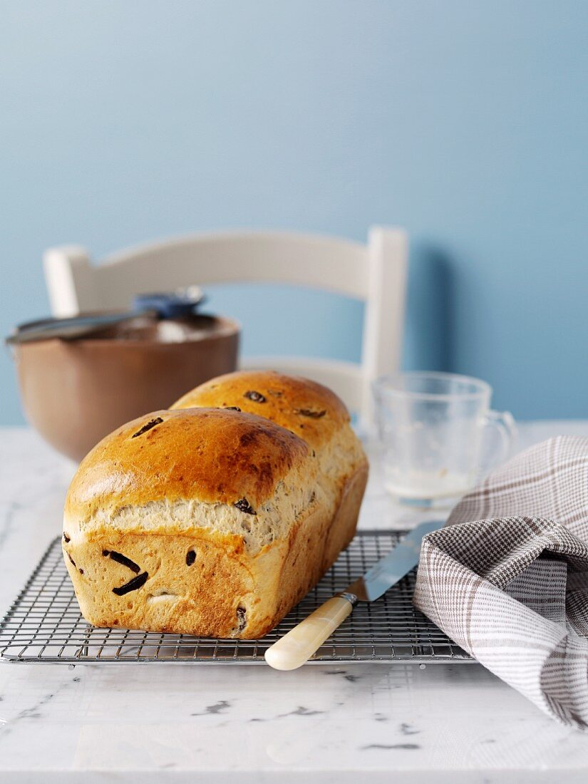 Olive and Parmesan Loaf