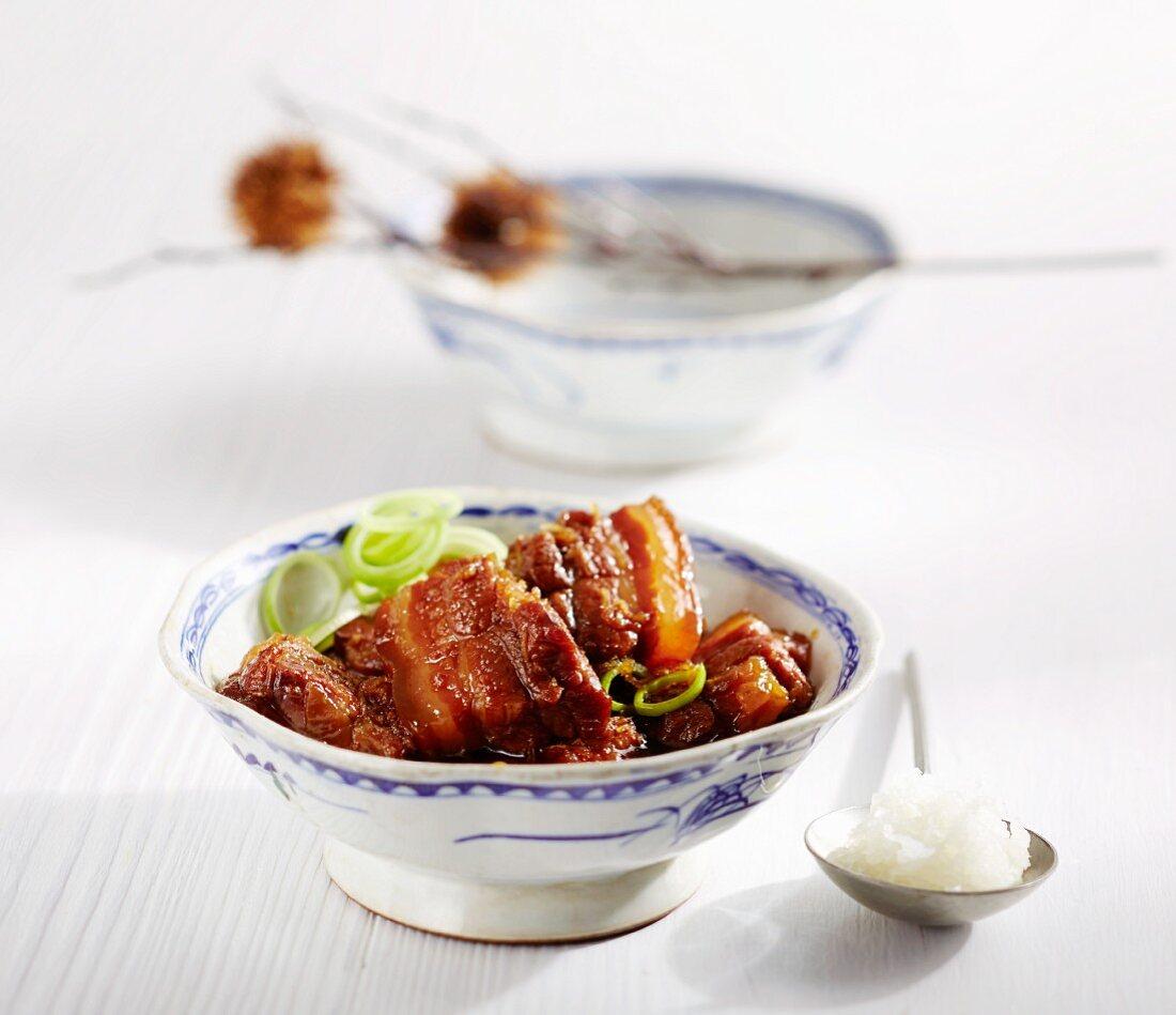 Tonbara no Nimono (boiled pork belly, Japan)