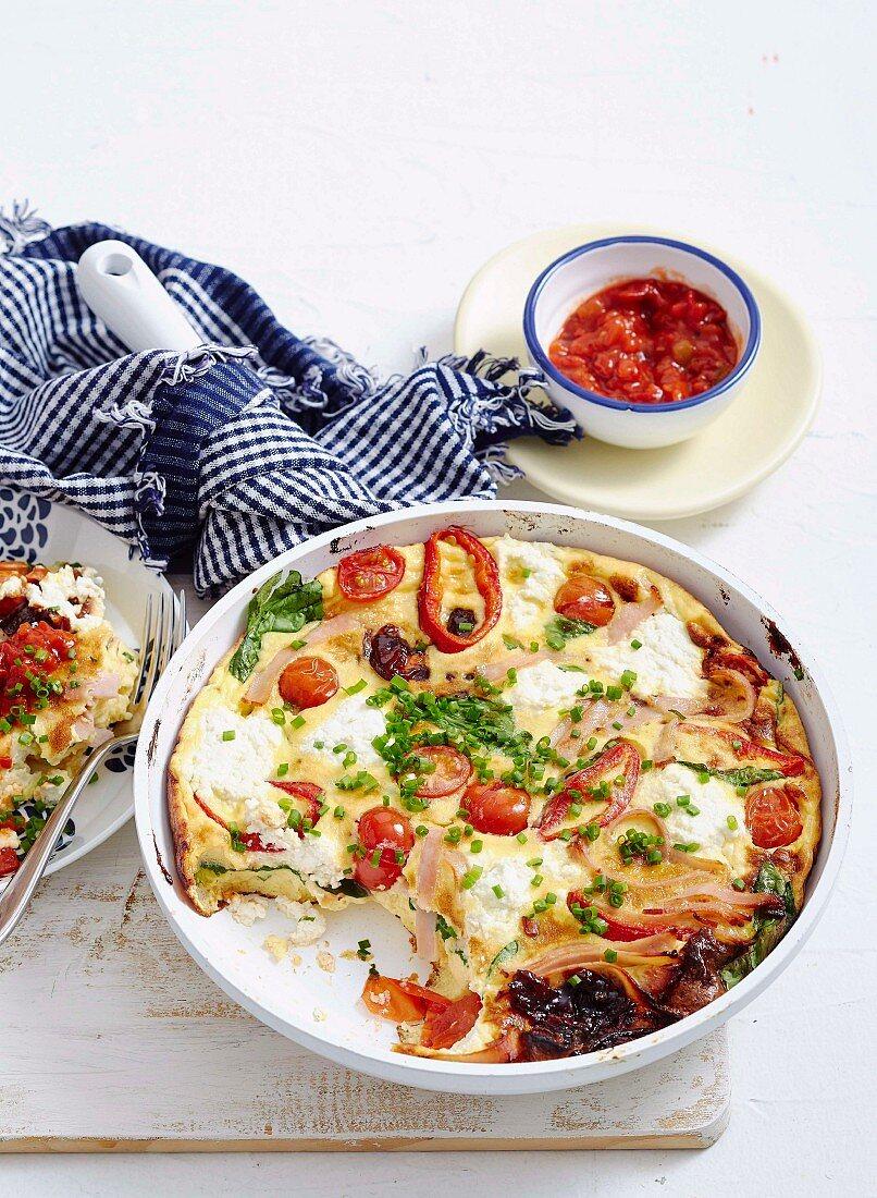 Farmhouse omelette