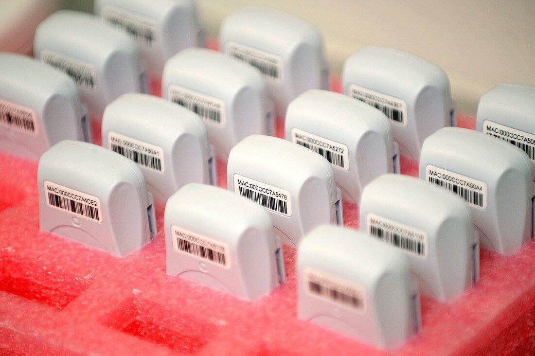 Wireless patient ID tags