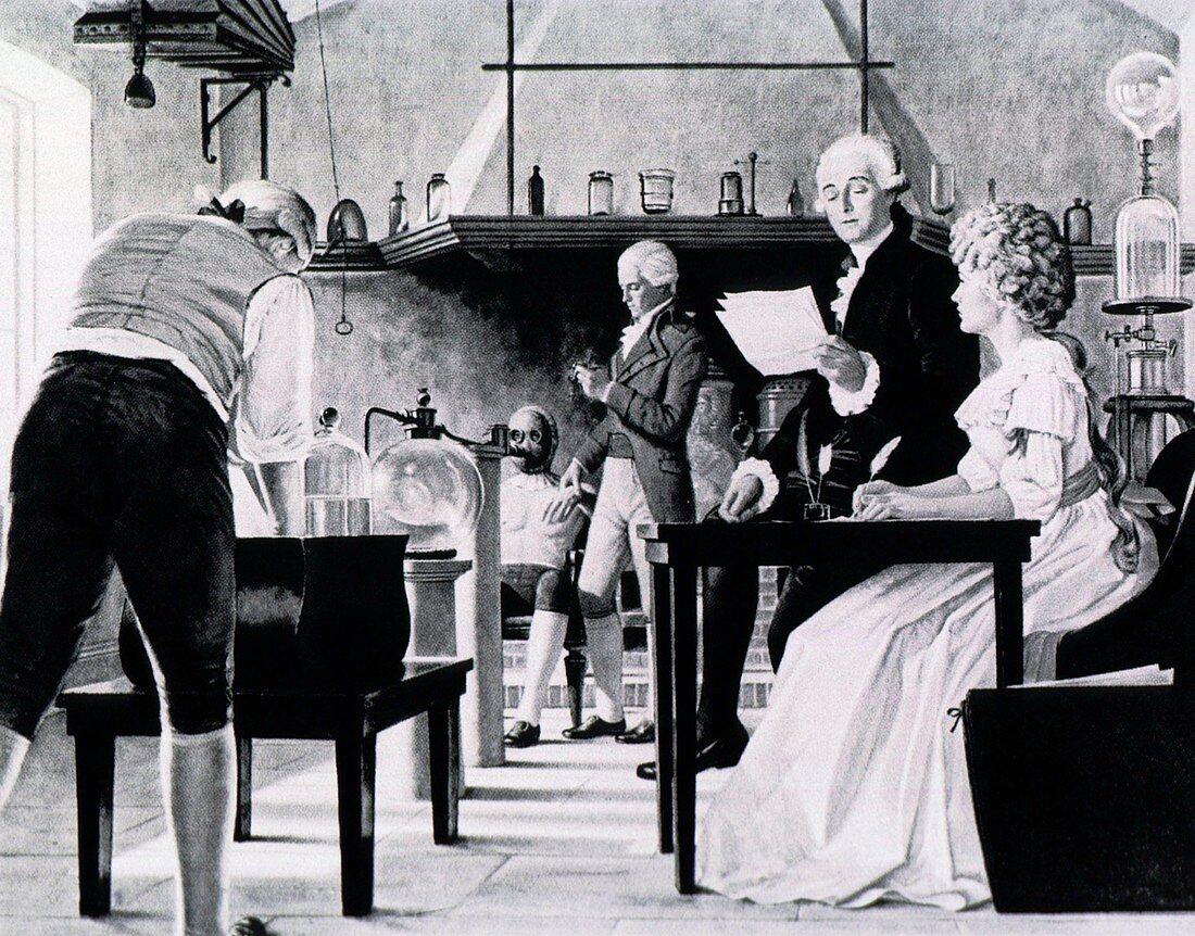 Antoine Lavoisier,French chemist