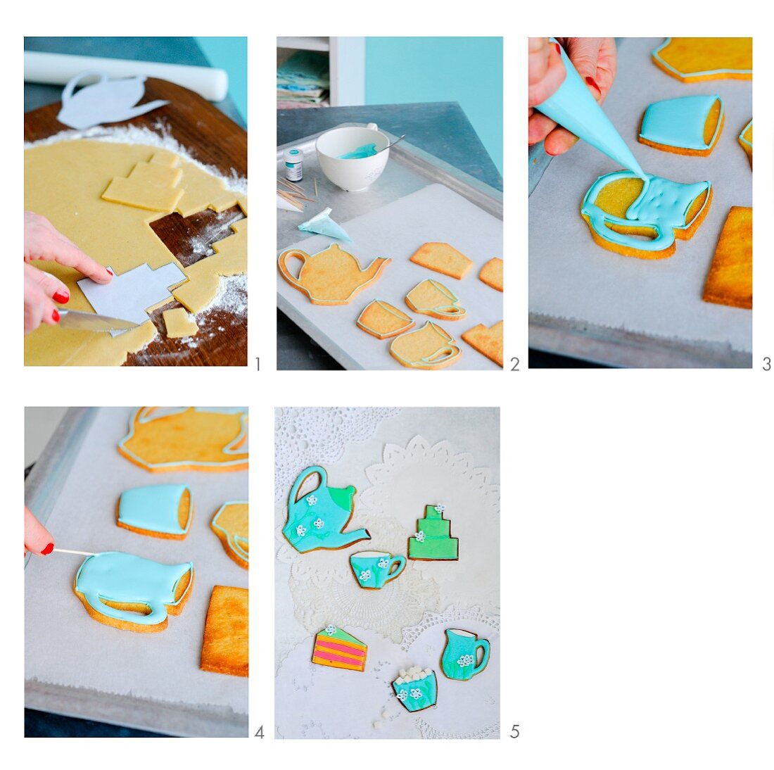 Biscuits for a coffee morning being made